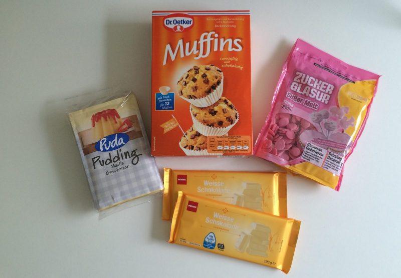 Muffin Zutaten