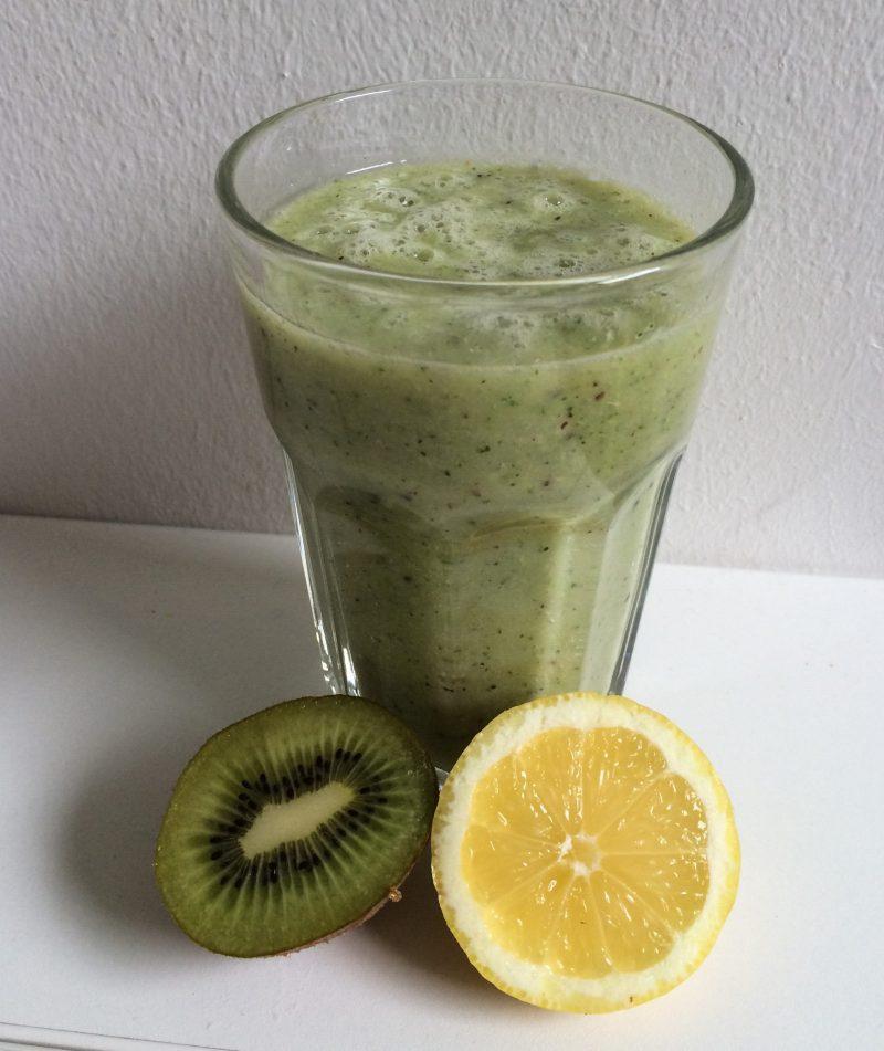 Rezept für grünen Smoothie