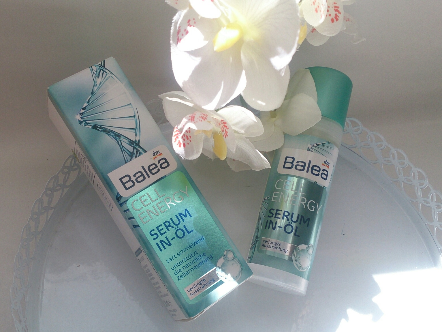 Balea Serum in Öl