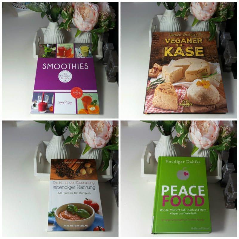 Rezepte und Ernährungsbücher