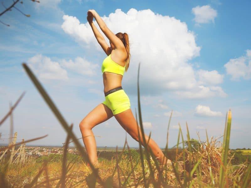 Yoga im Freien