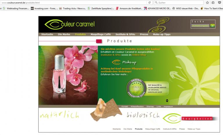 coleurcaramel-produkte