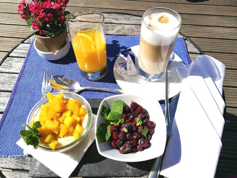 gesunde ernährung - frühstück im blue spa