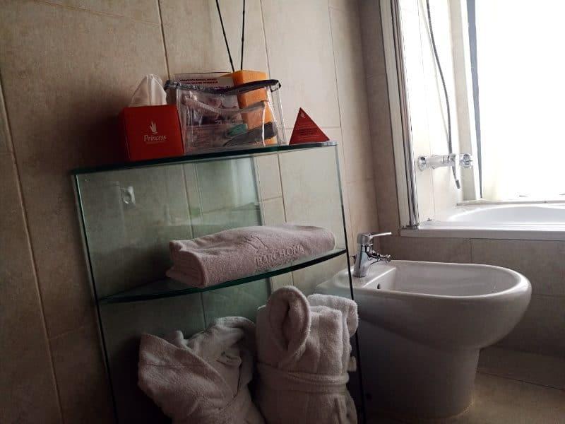 hotel barcelona princess suite badezimmer1
