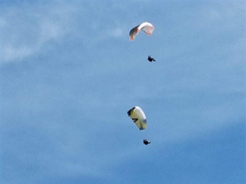 paragliden in pertisau